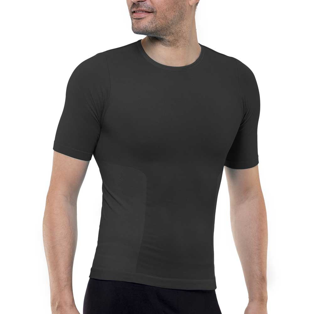 Sculpting t-shirt for men black